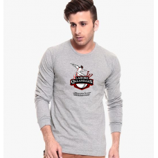 Lahore Qalandars Grey Full Sleeves T-Shirt