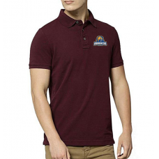 Karachi Kings Polo T-Shirt in Maroon
