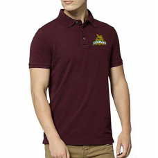 Multan Sultans Psl Polo T-Shirt in Maroon