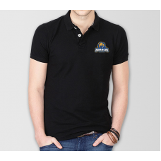 Karachi Kings Psl Polo T-Shirt in Black