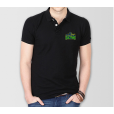Multan Sultans Psl Polo T-Shirt in Black