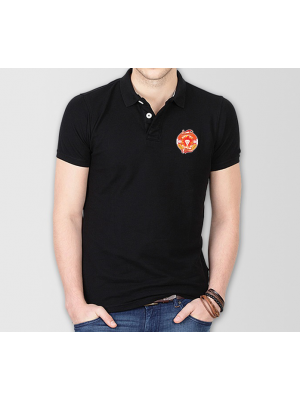Islamabad United Psl Polo T-Shirt in Black