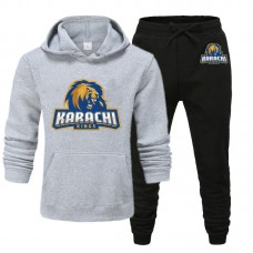 Karachi Kings Psl Grey Tracksuit