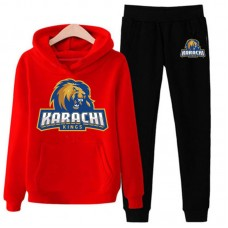 Karachi Kings Psl Red Tracksuit