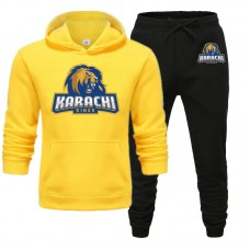 Karachi Kings Psl Yellow Tracksuit