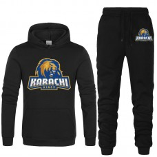Karachi Kings Psl Black Tracksuit