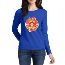 Islamabad United Psl Women T-Shirt in Blue