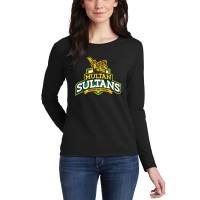 Multan Sultan Psl Women T-Shirt in Black