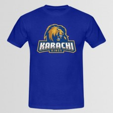 Karachi Kings Psl Blue T-Shirt