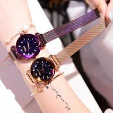 Bundle Of 2 Starry Magnet Women's Watch