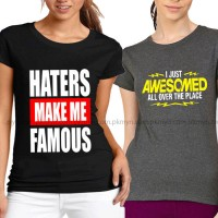 Bundle Of 2 Women's Printed T-Shirts D 6