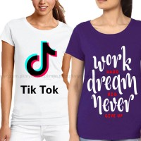 Bundle Of 2 Women's Printed T-Shirts D 8