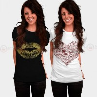 Bundle Of 2 Women's Printed T-Shirts D 12