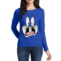 Bugs Bunny Full Sleeves T-Shirt in Royal Blue