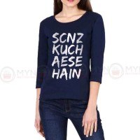 Scnz Full Sleeves T-Shirt in Blue