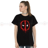 Scary Logo Black Printed T-Shirt