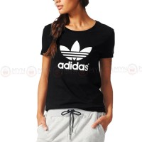 Adidas Black Printed T-Shirt