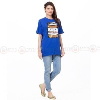 Nutella Blue Printed T-Shirt