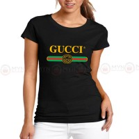 Gucci Black Printed T-Shirt