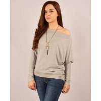 Casual Drop Shoulder Tee Top