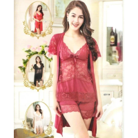 Bridal Sexy Short Nighty 6511