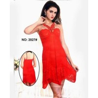 Romantic Short Nighty For Women 1729