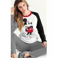 Women Stylish Mickey Mouse Night Suit