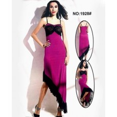 Hot Purple Valentine Long Nighty