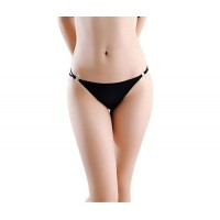Lady Delicate Slim Belt Smooth Iron Ring Style Panty