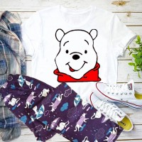 Honey White T-Shirt with Pajama