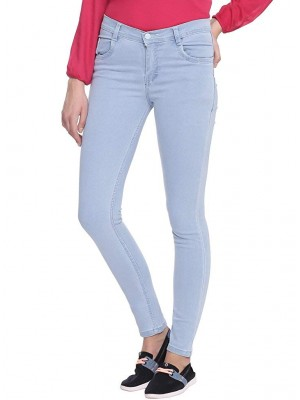 Denim Light Blue Jeans For Women