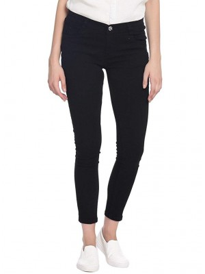 Denim Black Jeans For Women