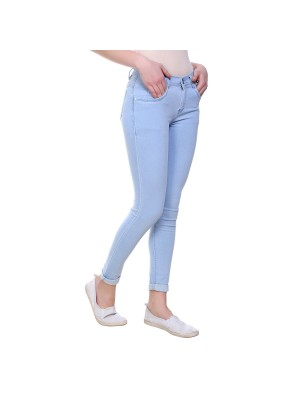 Women Cotton Skinny Fit Jeans