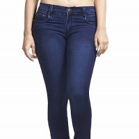 Women Slim Fit Jeans in blue