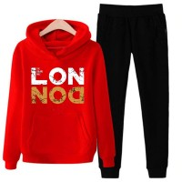 London Red Tracksuit For Men's