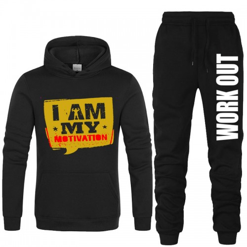 I My Motivation Tracksuit For Men's