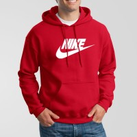 Nike Red Hoodie For Men's