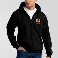 FCB Black Hoodie For Men