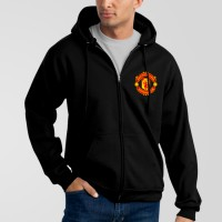 Manchester Black Hoodie For Men's