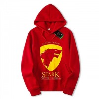 Stark Exported Quality Red Hoodie For Men's