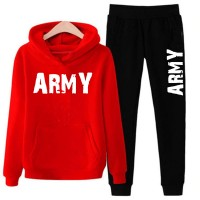 Army Red Tracksuit For Men