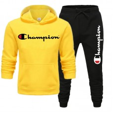 Champion Yellow Winter Tracksuit For Men's