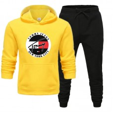 Tommy Jeans Yellow Tracksuit For Men's