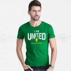 United Half Sleeves T-shirt in Green