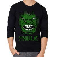The Hulk Full Sleeves Printed T-Shirt