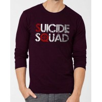 Suicide Squad Full Sleeves Graphic T-Shirt