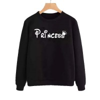 Princess Black Winter Collection Sweatshirt For Women