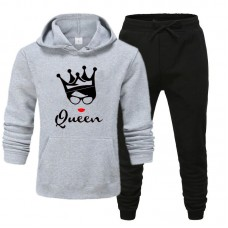 Queen Grey Exported Quality Tracksuit For Women's