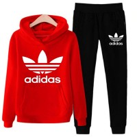Adidas Red Tracksuit For Women's