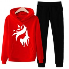 Stylish Design Exported Quality Red Tracksuit For Women
